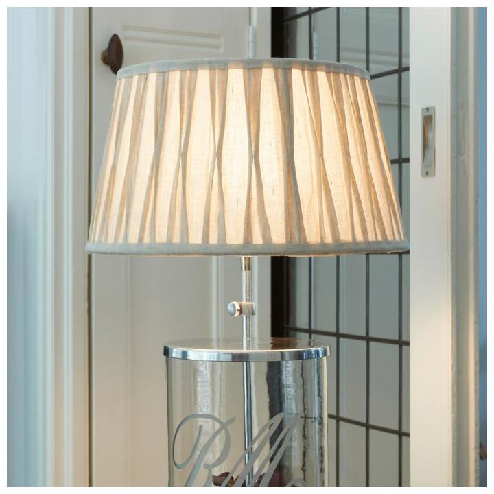 Cambridge lampshade naturel 35 x 45