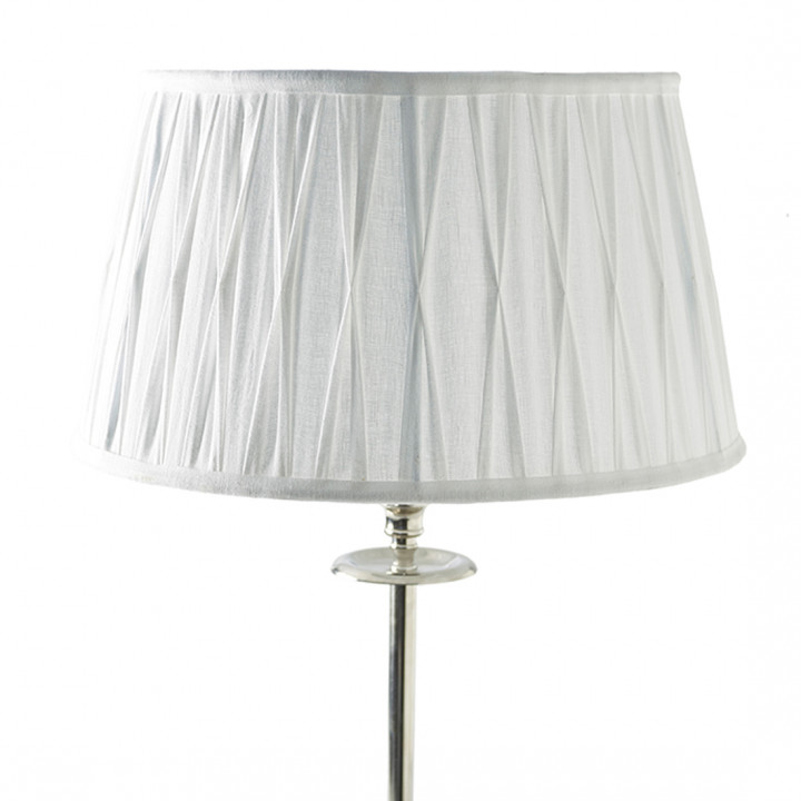 Cambridge lampshade white 35 x 45