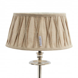 Cambridge lampshade naturel 23x30
