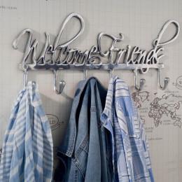 Coatrack welcome friends