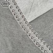 Urban ring back bar stool grey
