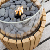 Cosiscoop timber fire lantern