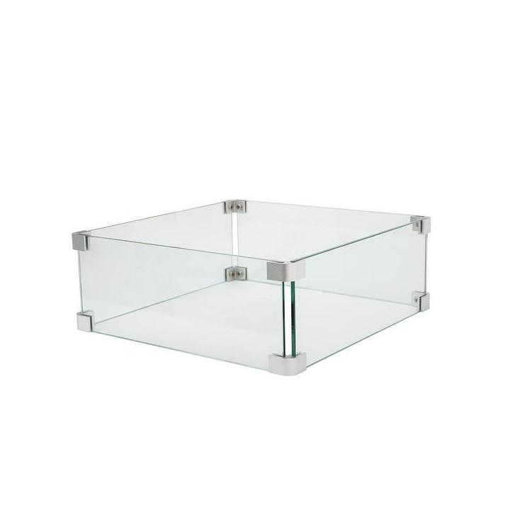 Cosiglass set square fire pit medium