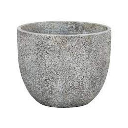 Beaumont 04e round planter light grey 37cm dia
