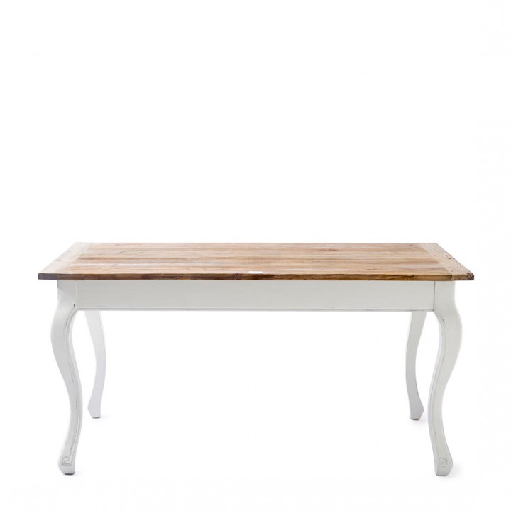 Driftwood dining table 160x90 cm
