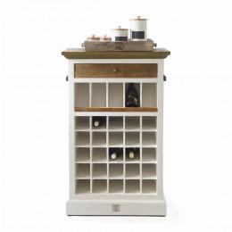 Driftwood wine cabinet