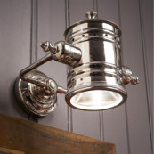 On stage wall lamp