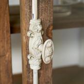 Driftwood glass cabinet