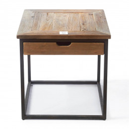 Shelter island end table w drawer