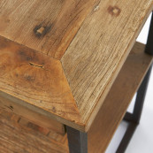 Shelter island side table with drawers