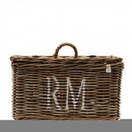 Rustic rattan classic rm basket l