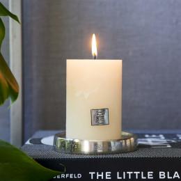 Rustic candle basic ivory 7x10
