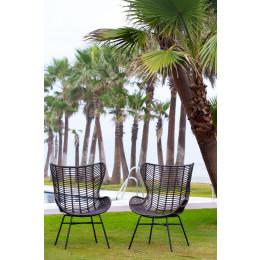 Outdoor carolina port wing chair