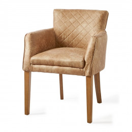 Waverly dining armchair pell camel