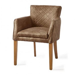 Waverly dining armchair pel coffee