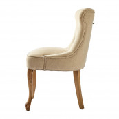 George dining chair linen