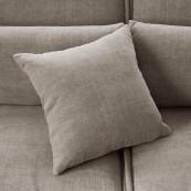 Metropolis sofa 3 5 seater washed cotton stone