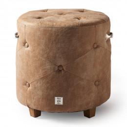 Bowery footstool pellini camel
