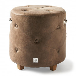 Bowery footstool pellini coffee