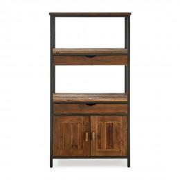 Shelter island book cabinet