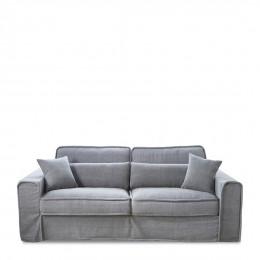 Metropolis sofa 2 5s cotton grey