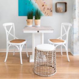 Saint etienne dining chair white