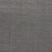 Metropolis center washed cotton grey
