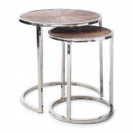 Greenwich end table set 2