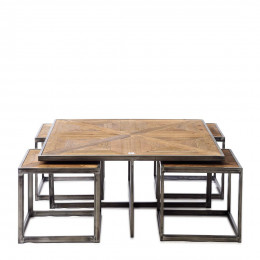Le bar american coffee table set 5