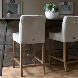 Cape breton counter stool lin flax