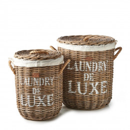 Rr laundry basket set of 2 pieces