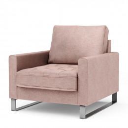 West houston velvet armchair blossom