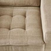 West houston armchair cotton natura