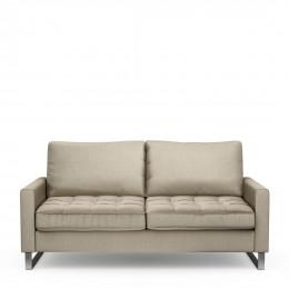 West houston 2 5 seater velvet sofa pearl
