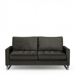 West houston 2 5 seater velvet sofa shadow