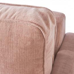 West houston 2 5 seater velvet sofa blossom