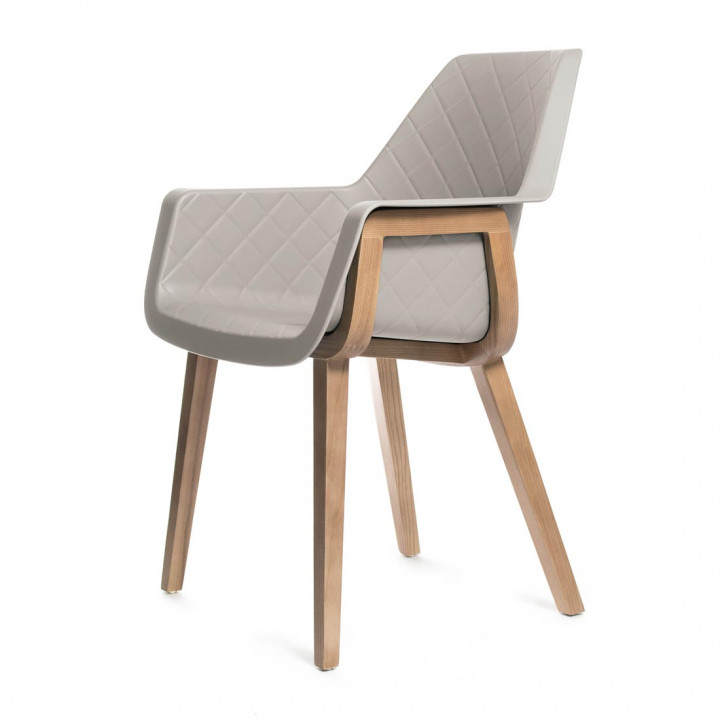 Amsterdam city dining armchair taup
