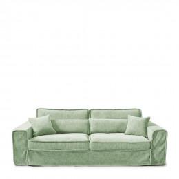 Metropolis sofa 3 5s velvet mint