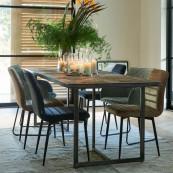 Le bar american dining table 220 cm