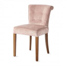 Meadow dining chair velvet pink