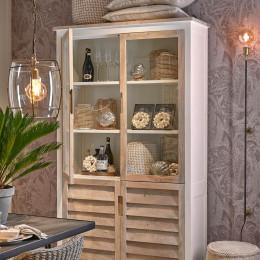Pacifica glass cabinet