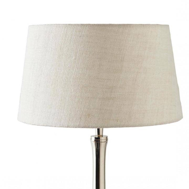 Loveable linen lampsh sand 25x30