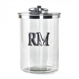Rm metal storage jar