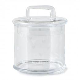 Lovely heart storage jar