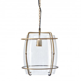 Brompton cross hanging lamp