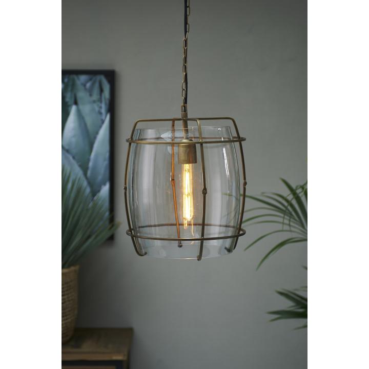 Brompton cross hanging lamp