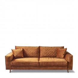 Kendall sofa 3 5 seater velvet cognac