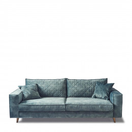 Kendall sofa 3 5s velv minblue