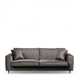 Kendall sofa 3 5s velv grigrey