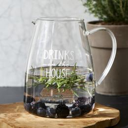 Drinks on the house jug